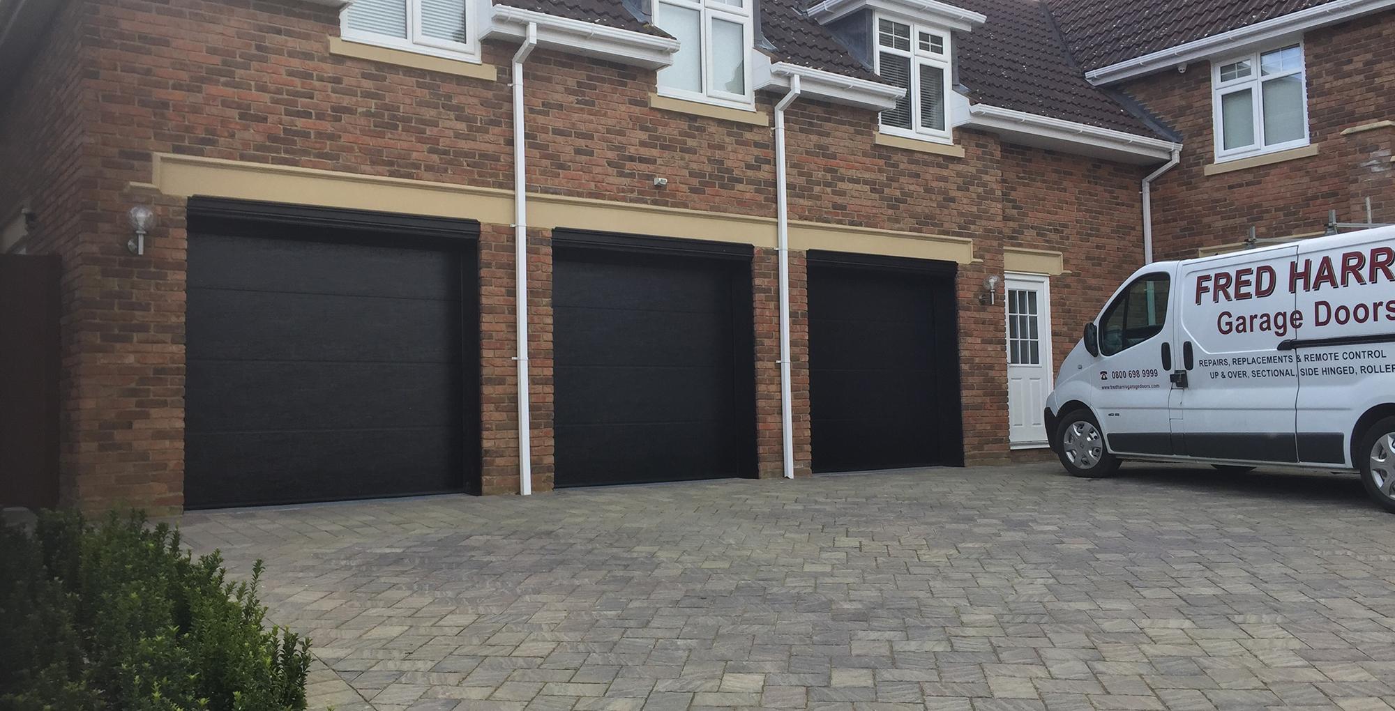 Contact your local garage doors specialists fred harris for Local garage door